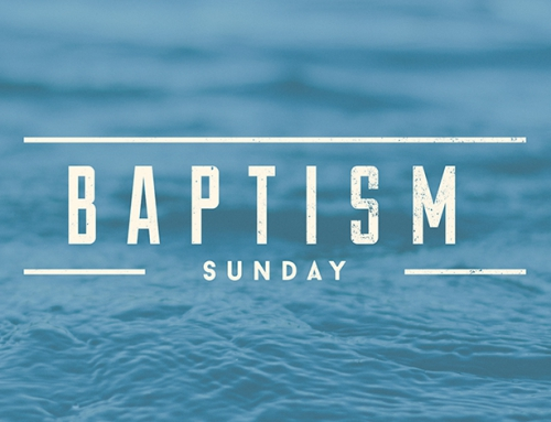 Be baptised